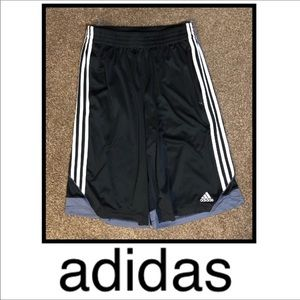 Men's Black Adidas Athletic Shorts